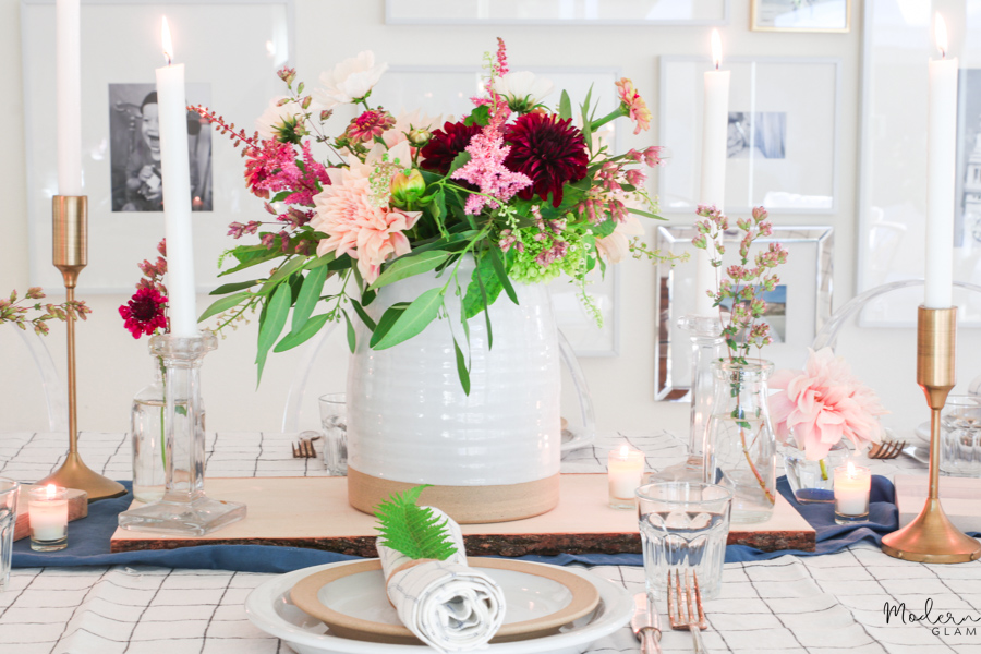 floral centerpiece ideas for dinner parties