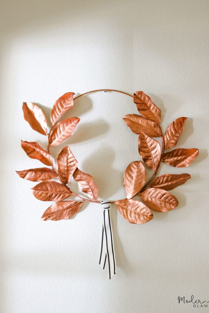 diy fall wreath for front door