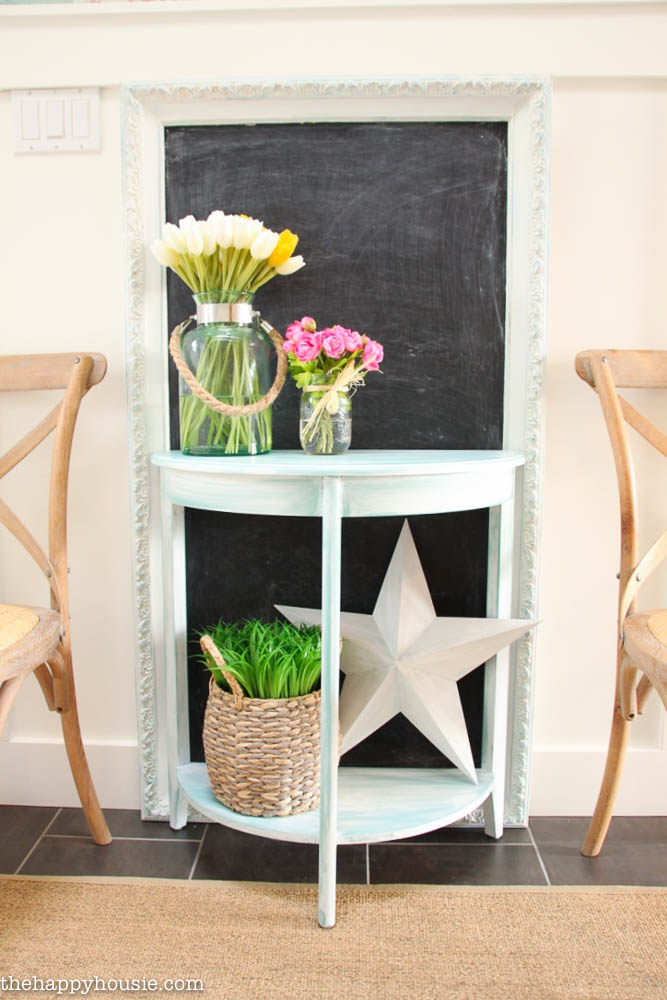 how to chalk paint