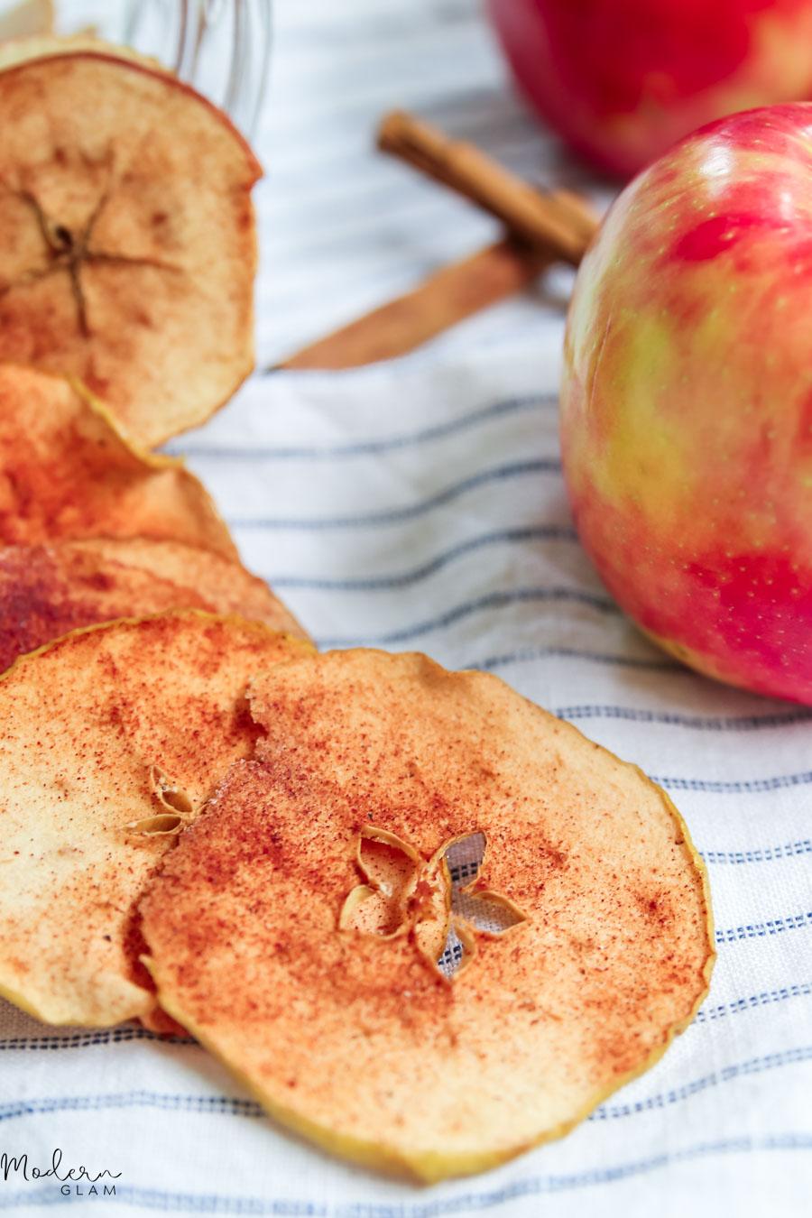homemade baked apple chips recipe