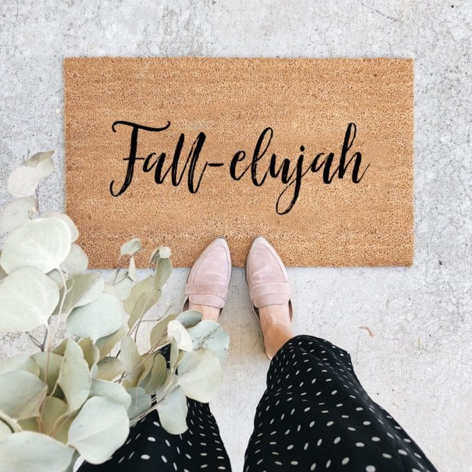 fall doormat ideas