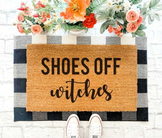 fall doormat layering ideas