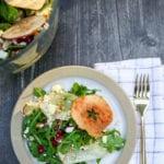layered arugula salad recipe