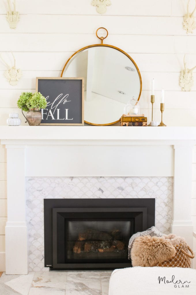 minimalist mantel decorating ideas