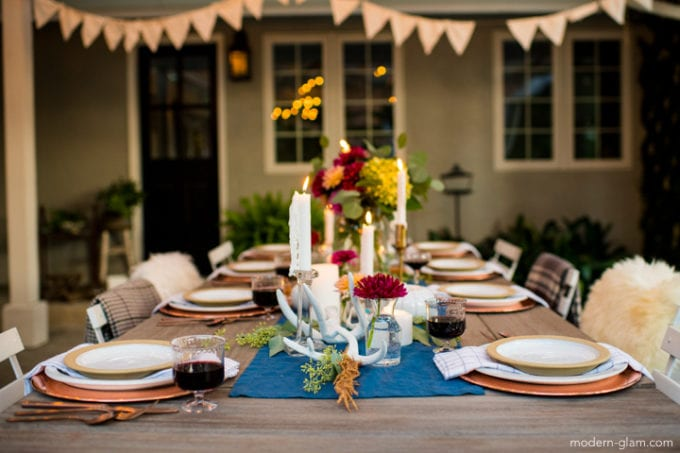 fall decorating ideas for your table