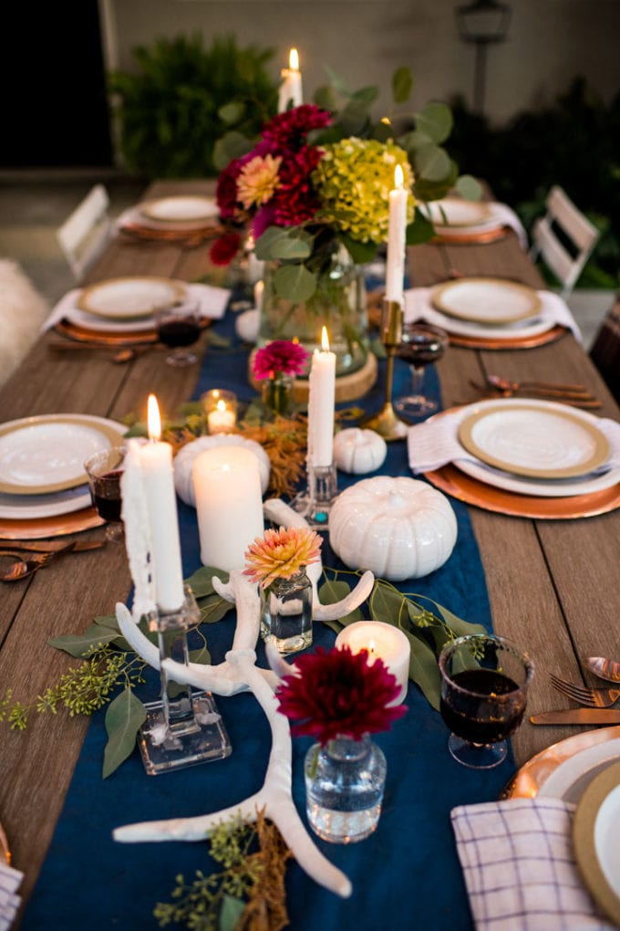 fall floral centerpiece idea