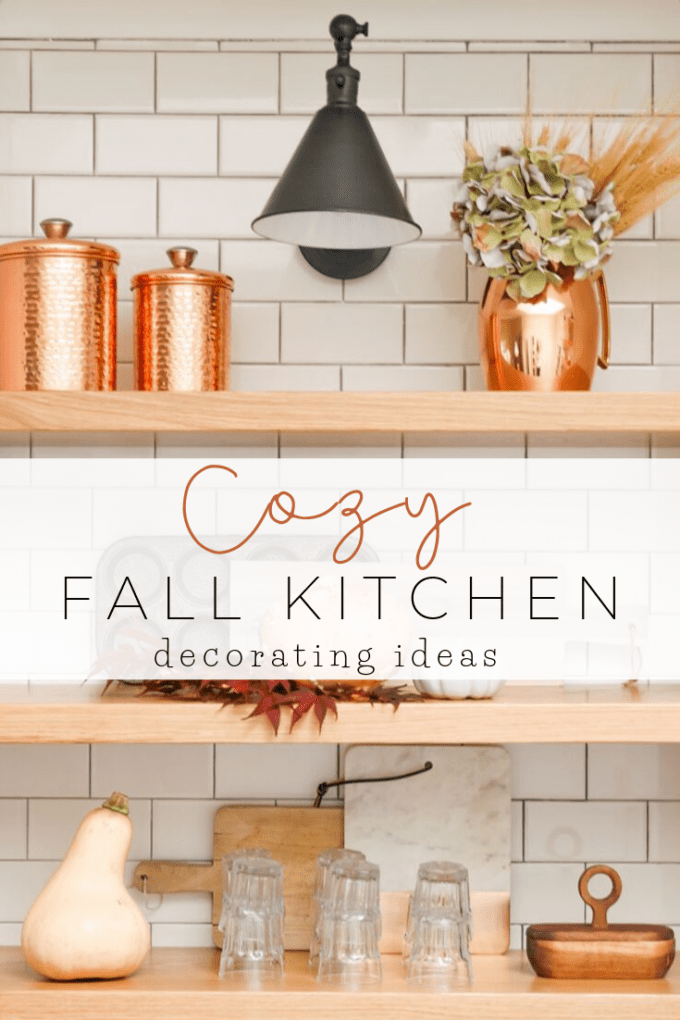 5 ways to make your kitchen cozy for fall