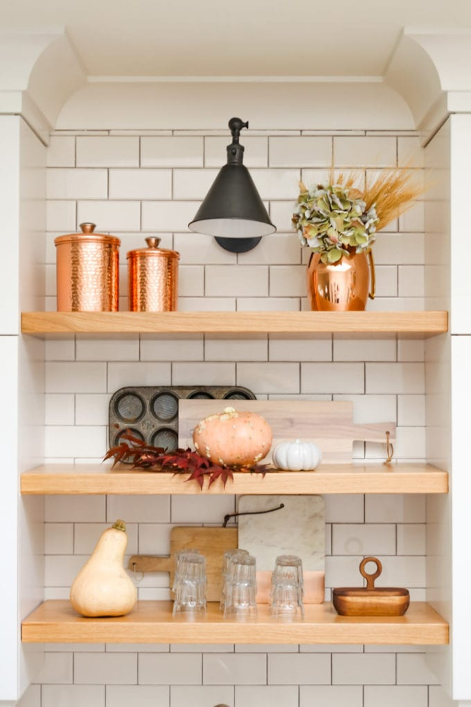modern farmhouse fall decor