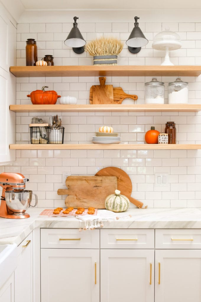 my cozy fall kitchen home tour