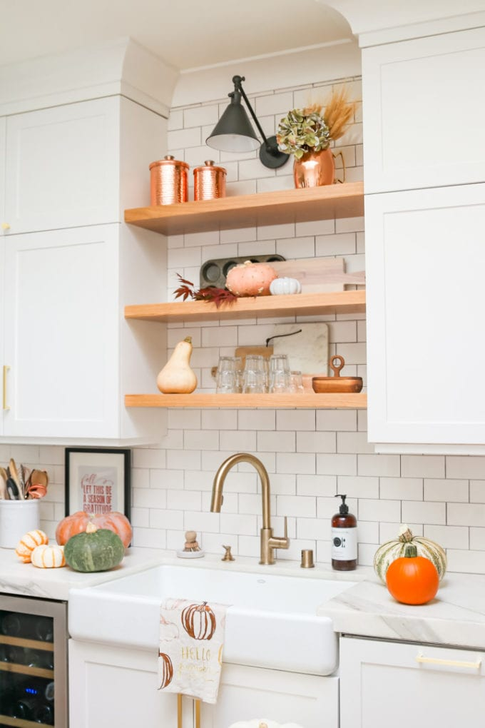 cozy fall kitchen home tour