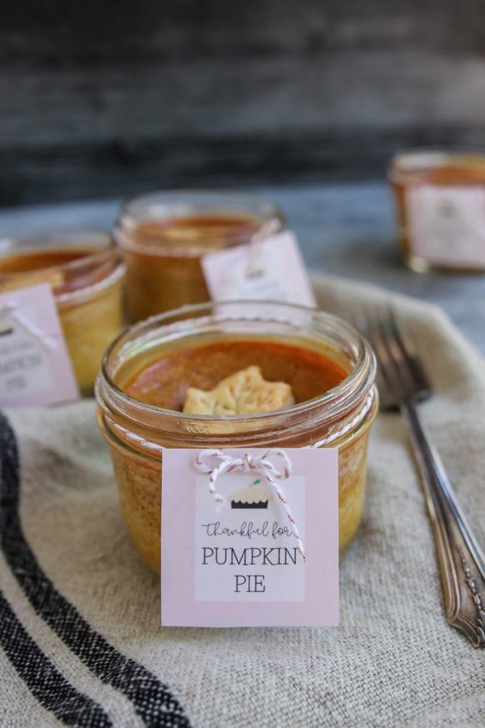 pumpkin pie free printable