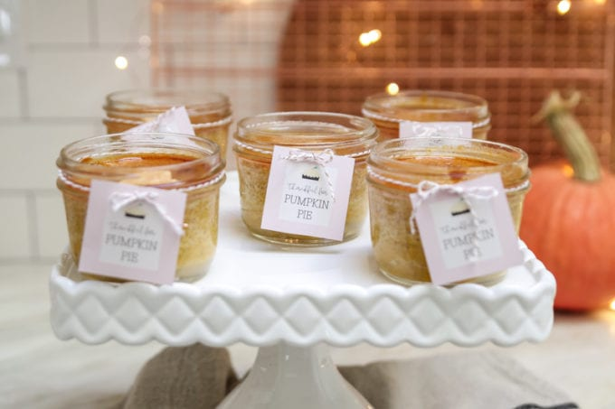 mason jar dessert idea