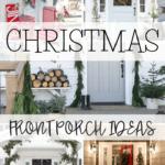 festive christmas front porch decor
