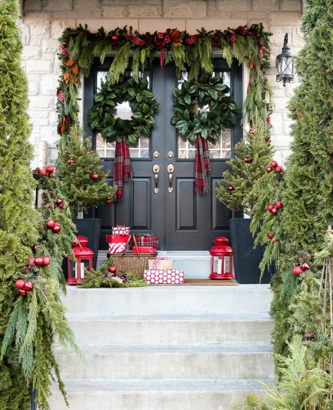 front porch decorating ideas for holidays