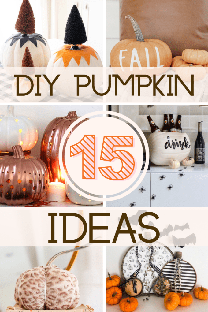 easy pumpkin decorating ideas
