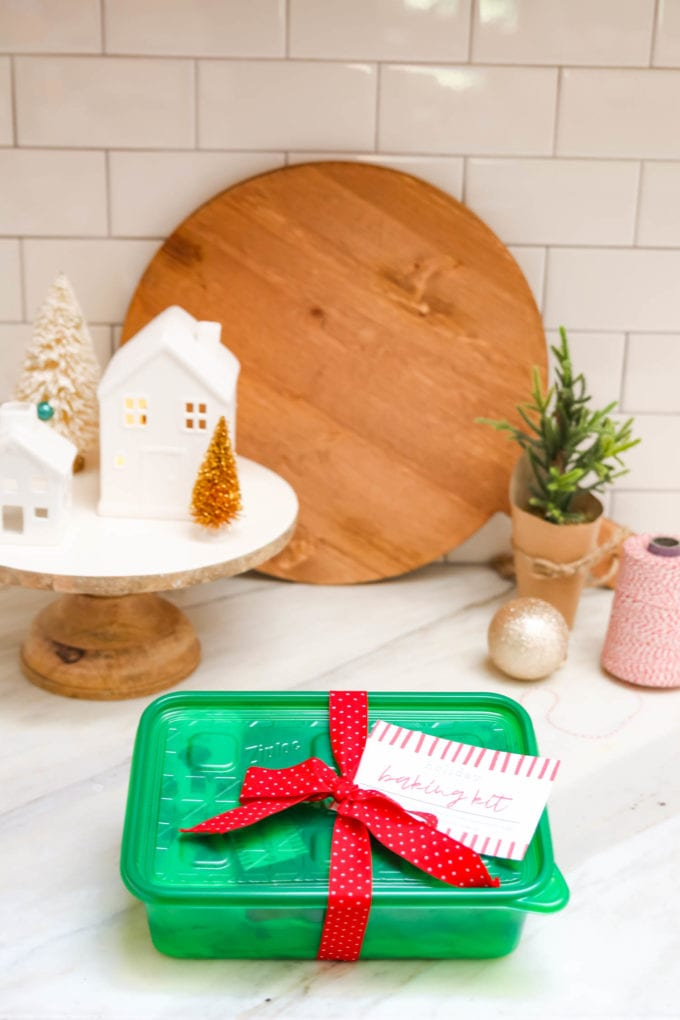 diy baking kit for christmas