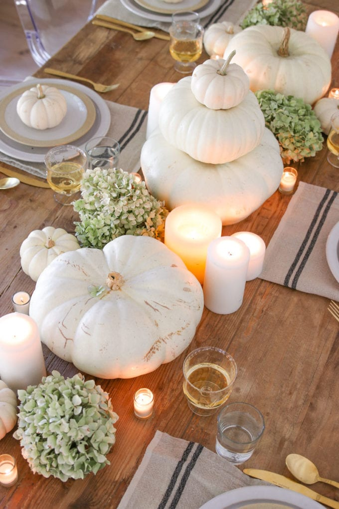 simple centerpiece idea