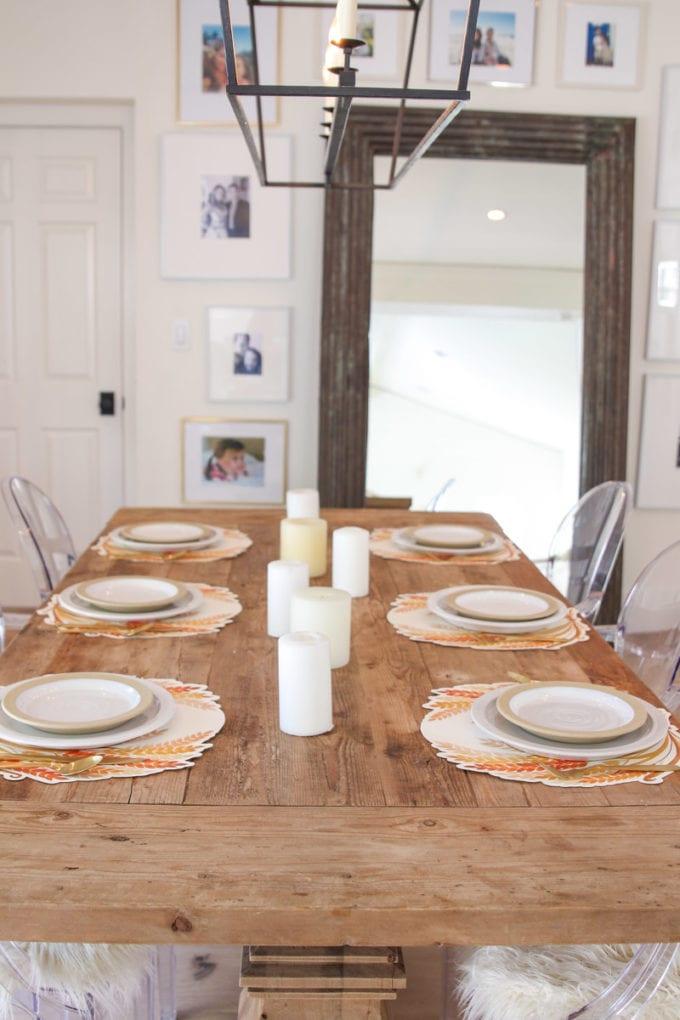 fall table ideas