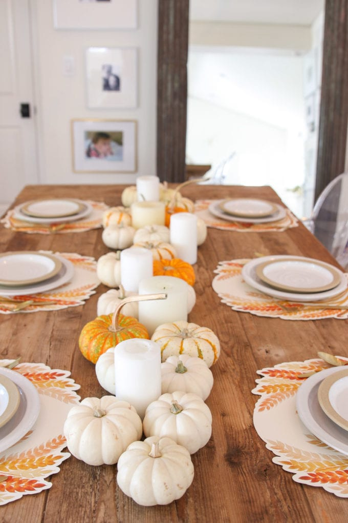 easy fall table ideas