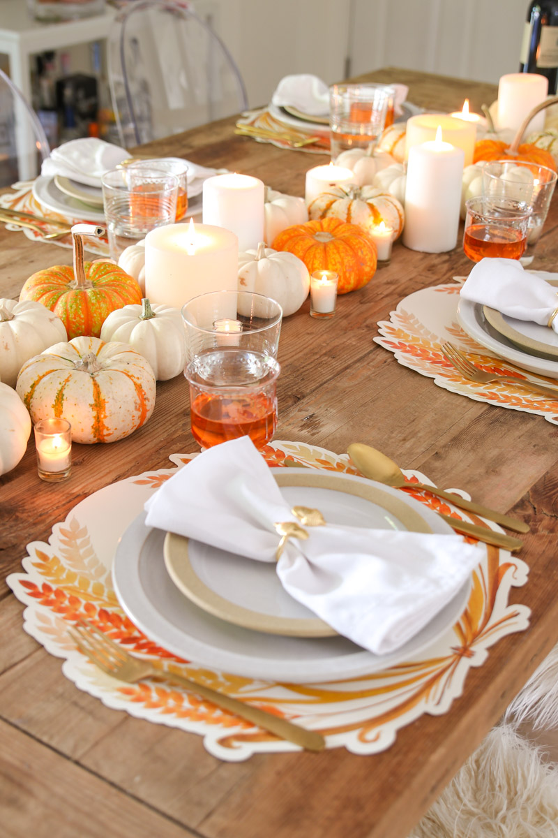farmhouse thanksgiving table idea