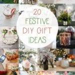 20 festive DIY gift ideas