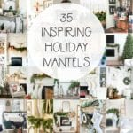 35 holiday mantels