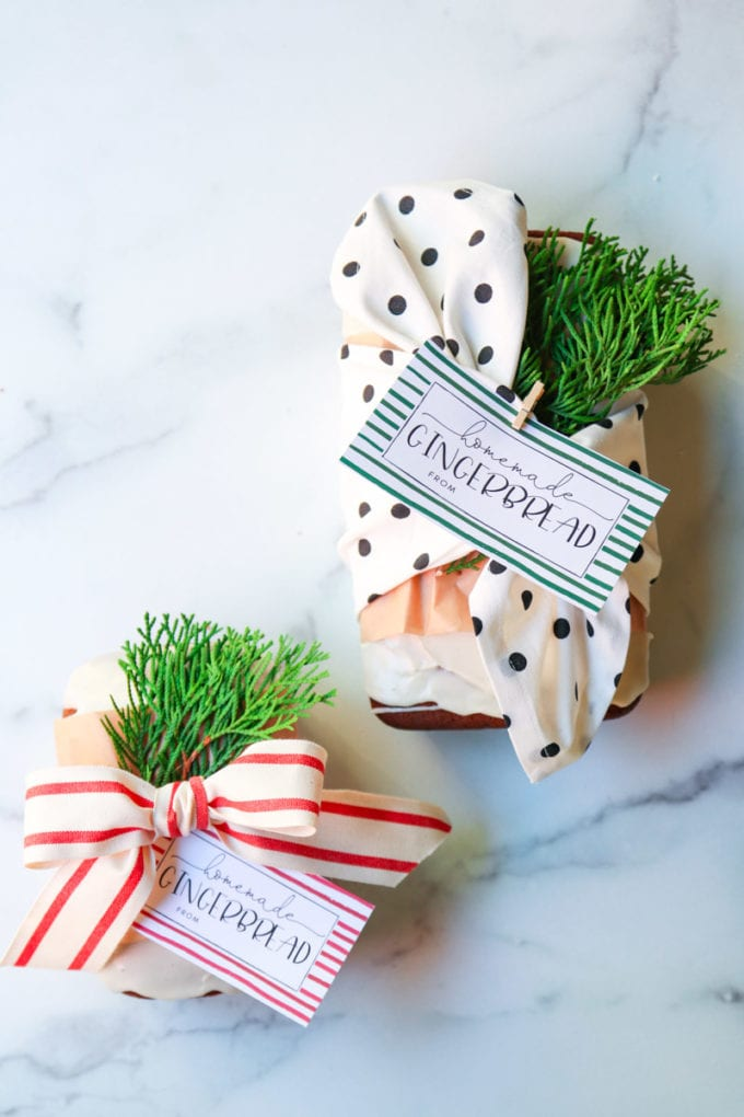 2 ways to wrap holiday treats for gifts