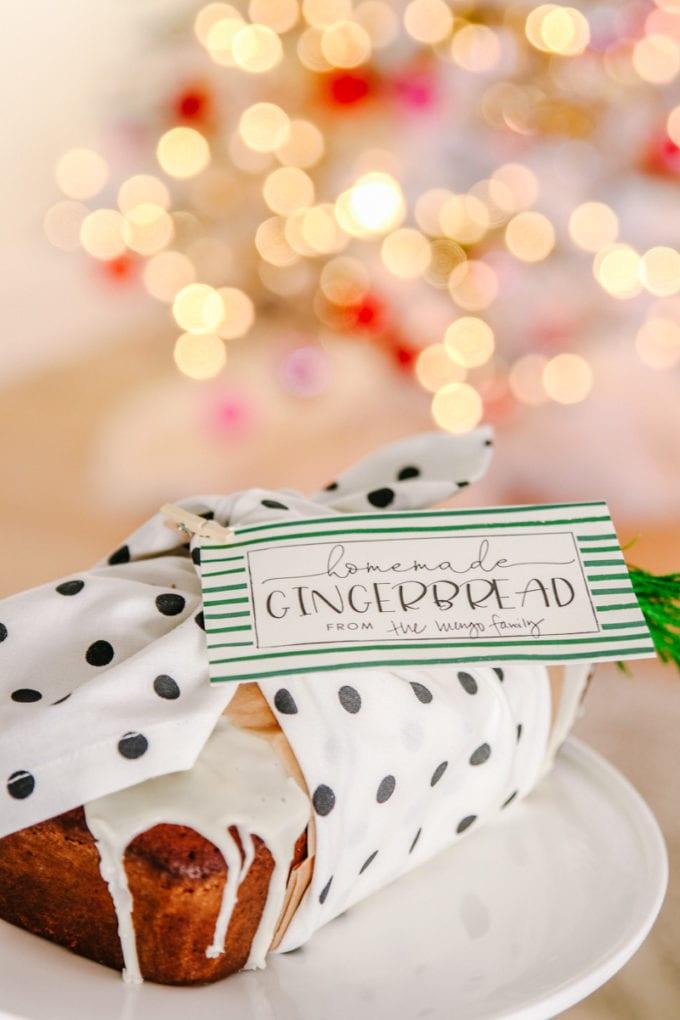 furoshiki gift wrapping for food