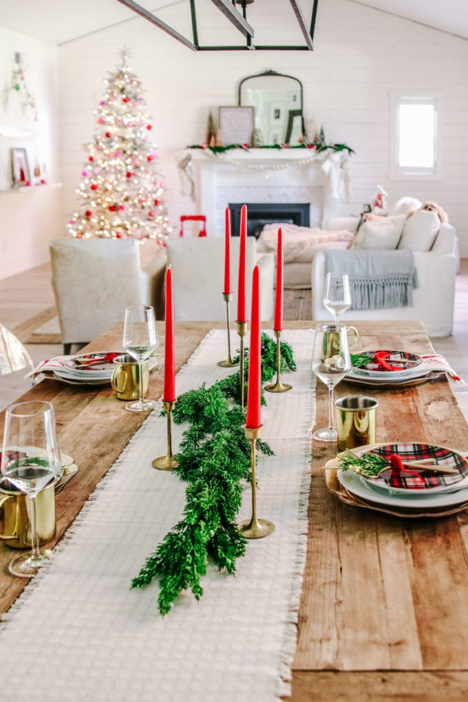 holiday greenery faux