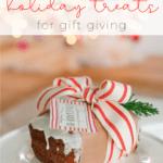 how to wrap holiday treats