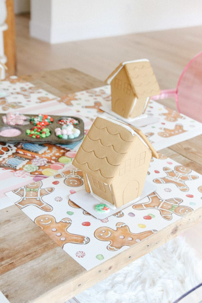 how to throw a gingerbread party for kids