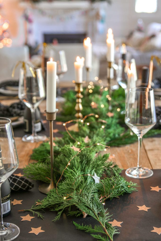 NYE centerpiece ideas