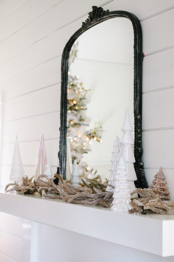 winter mantel decor ideas