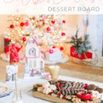 christmas dessert platter