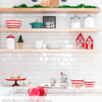 how to decorate the kitchen for christmas