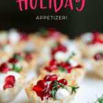 holiday finger food recipe