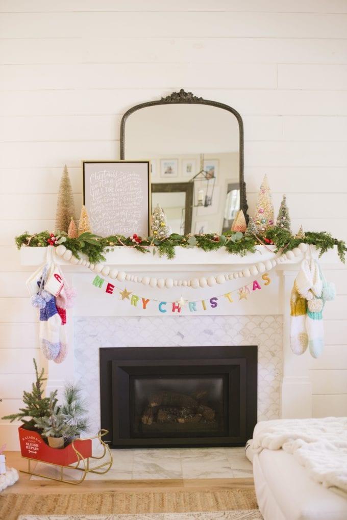 holiday mantel decor ideas