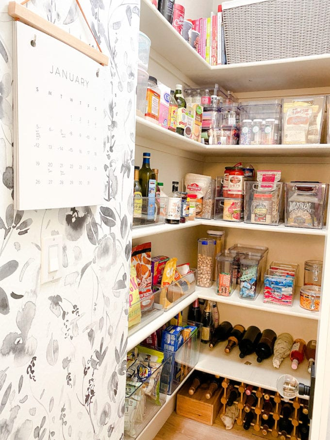 how often to clean your pantry shelves