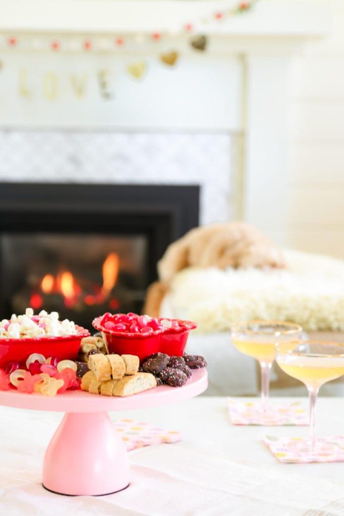 dessert board for entertaining