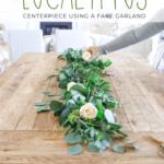 Spring Table Garland DIY