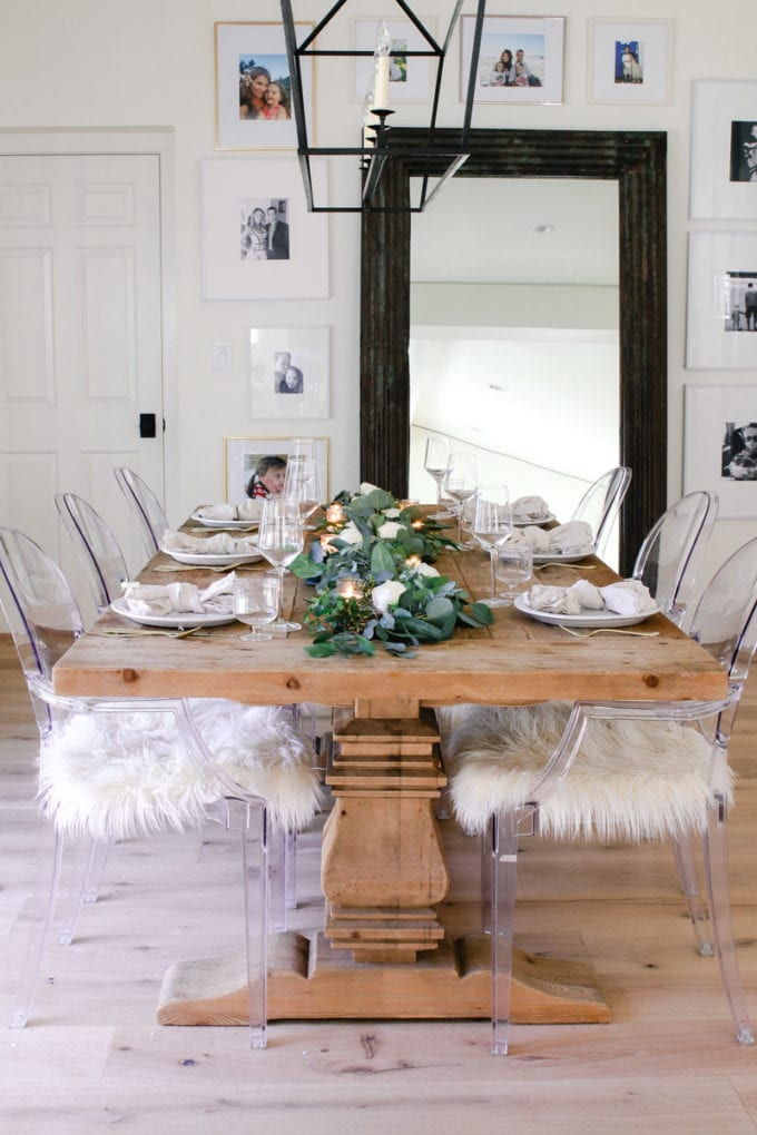 neutral table decorating ideas