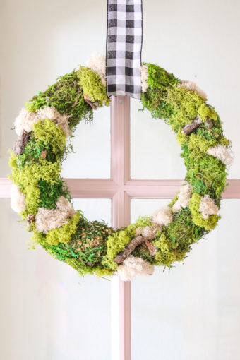 Modern DIY Wreath