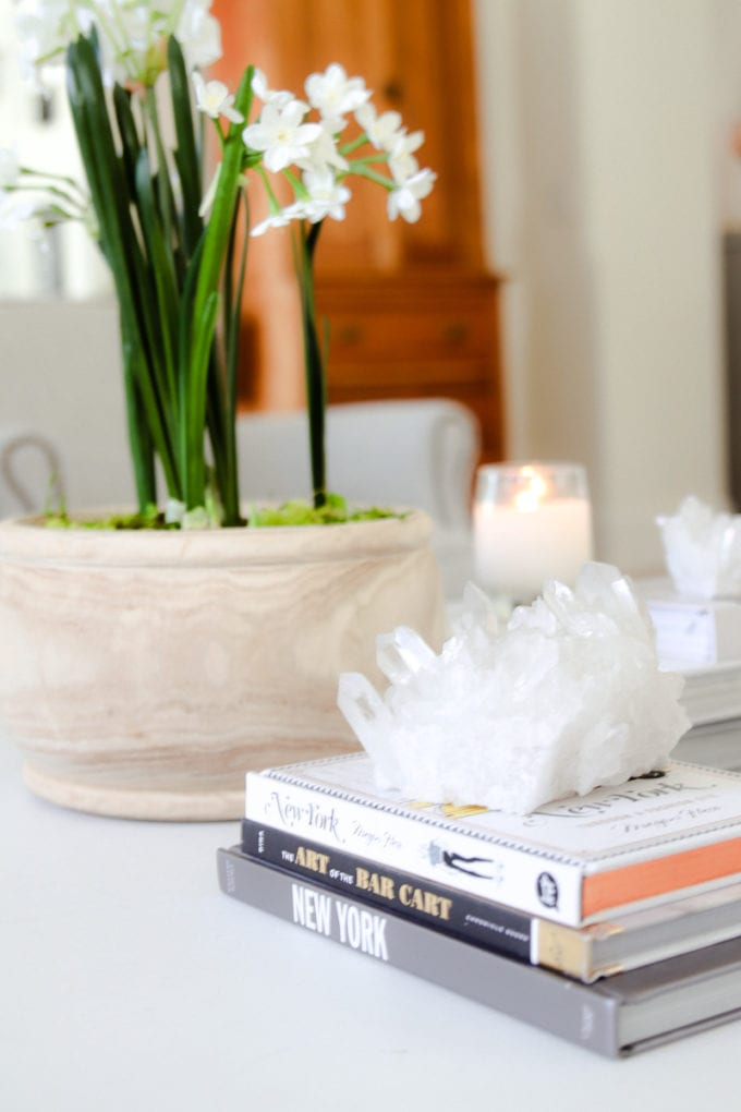how to style your home for spring
