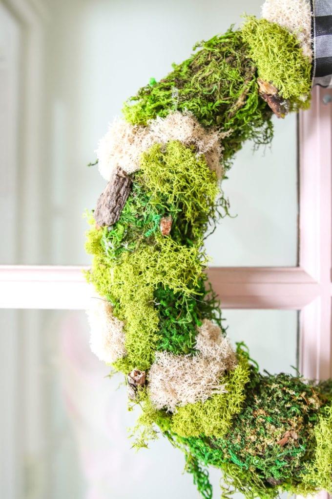DIY wreath for front door