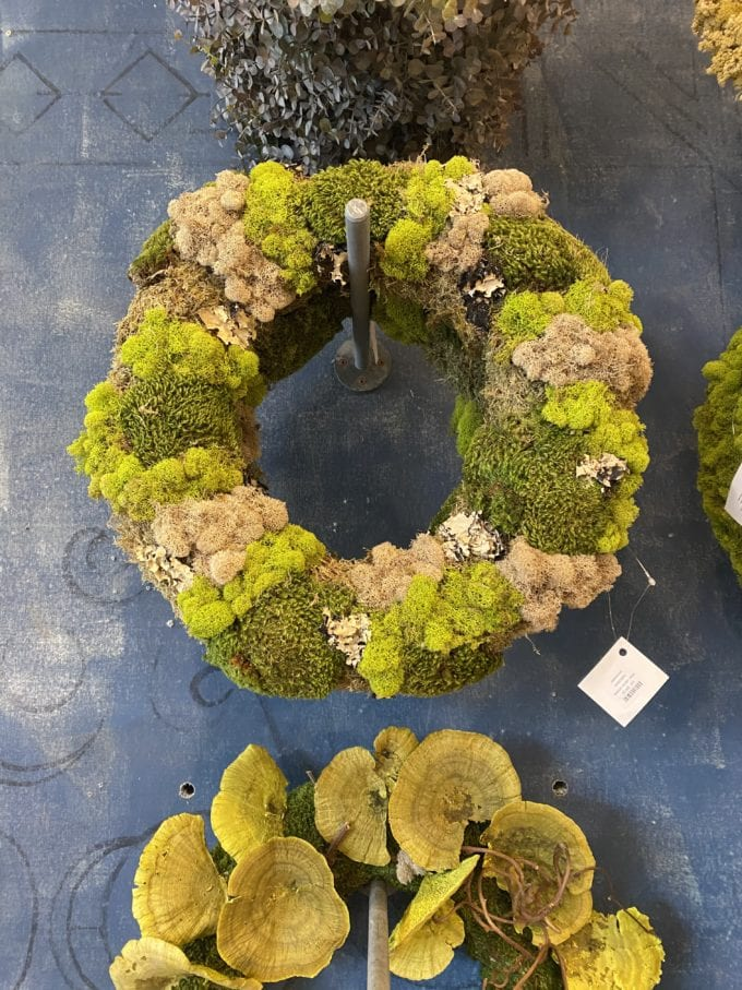 Anthropologie knock off wreath