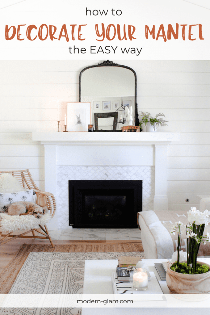 how to decorate your mantel the easy way