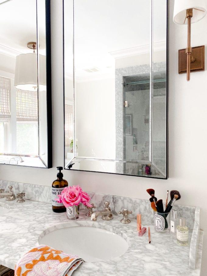 Modern Marble Bathroom Design
