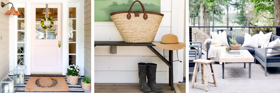 Front porch decorating ideas.
