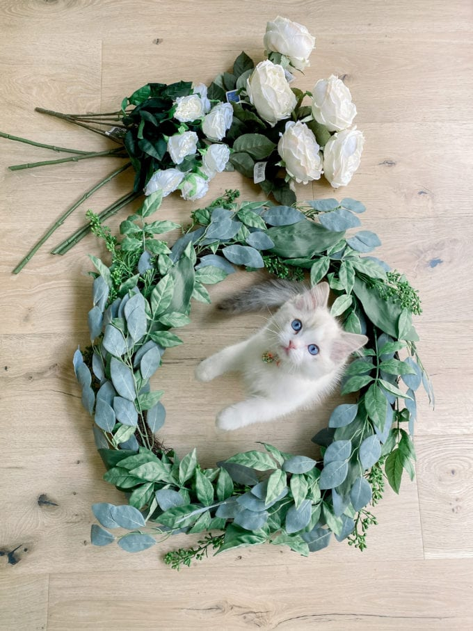 how to make a summer wreath