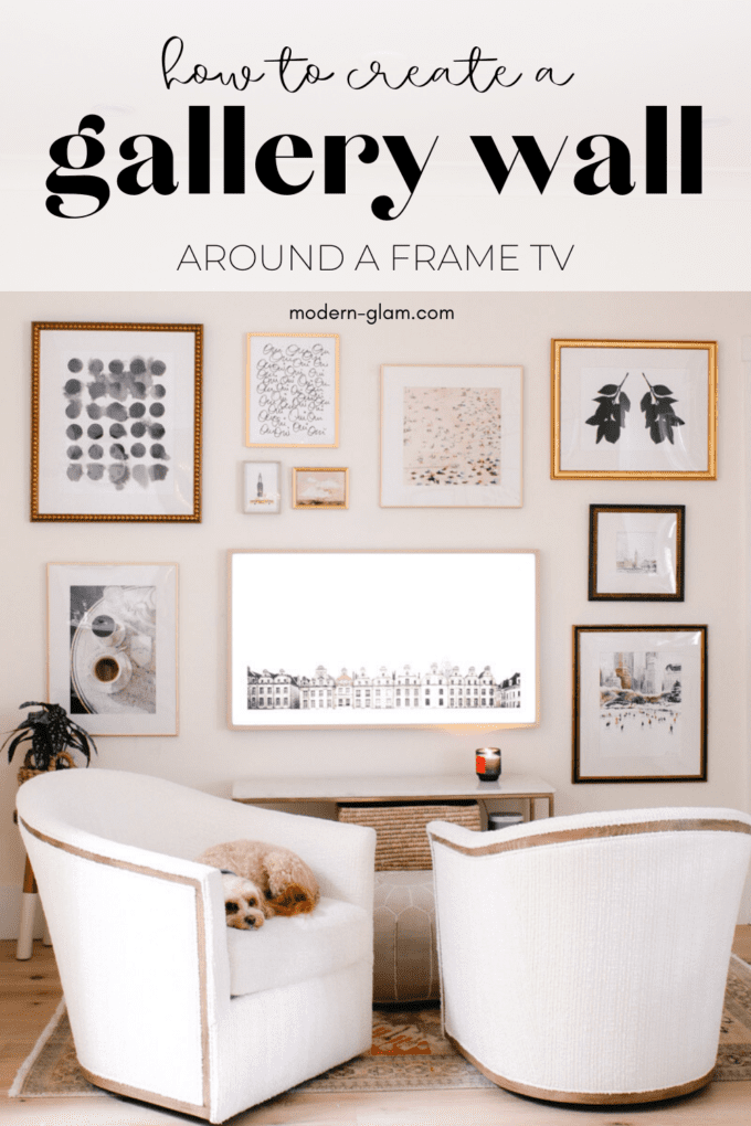 how to create a curate gallery wall from scratch